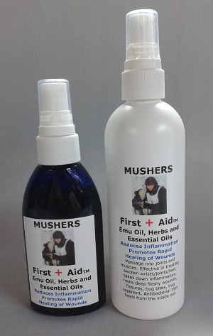 NEW! Mushers FirstAid Spray
